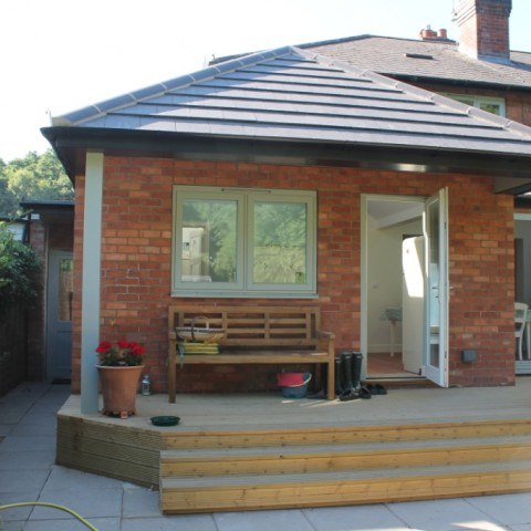 Kitchen dining room extension warwickshire essential for Dining room extension